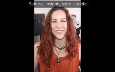 Sidereal Insights Astro Update • 7 29 2019