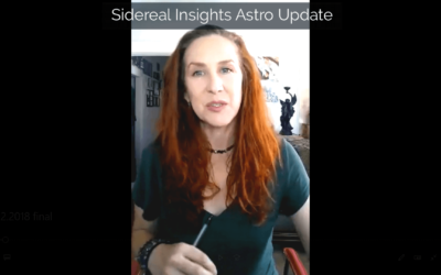 Sidereal Insights Astro Update • 10 22 2018
