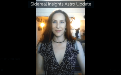 Sidereal Insights Astro Update • 11 05 2018