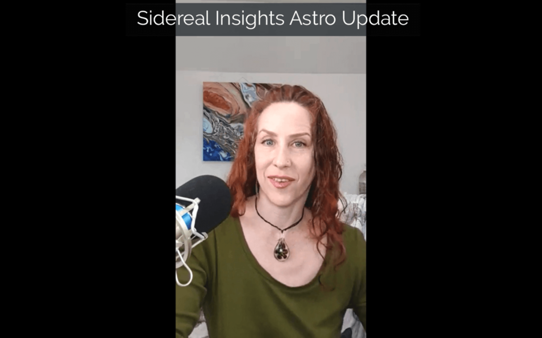 Sidereal Insights Astro Update • 2 10 2020