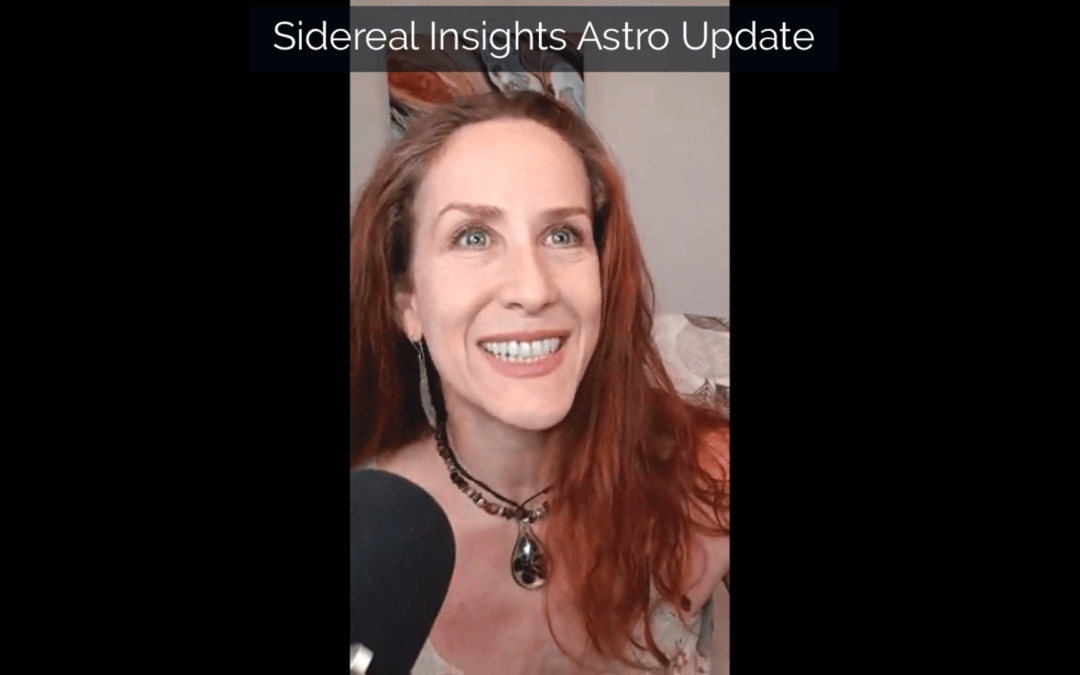 Sidereal Insights Astro Update • 8 26 2019